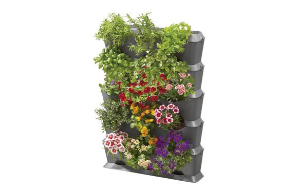 Kit macetas jardin vertical nature up 15 modulos