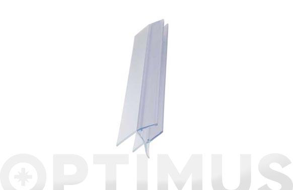 Perfil mampara bañera 6-8mm/2mt
