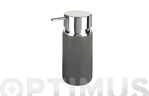 Dosificador jabon silo gris