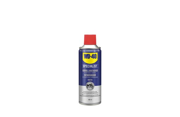 Abrillantador de silicona spray 400 ml specialist motorbike