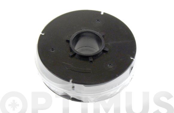 Carrete recambio hilo nilon ø 1,6 mm. para cortabordes ironside ref. 9690072