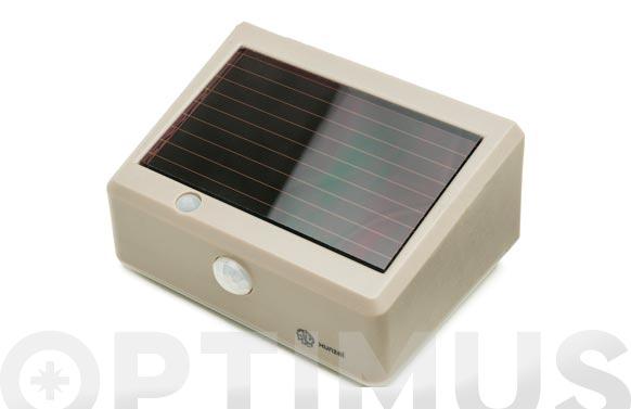 Led solar con detector de movimiento solarwall stone