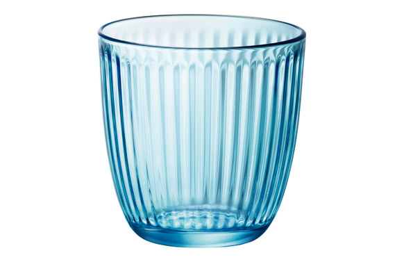 Vaso line azul agua pack 6 uds 29 cl