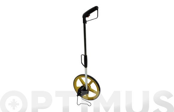 Topómetro mango plegable ø320 mm con luz y bolsa de transporte