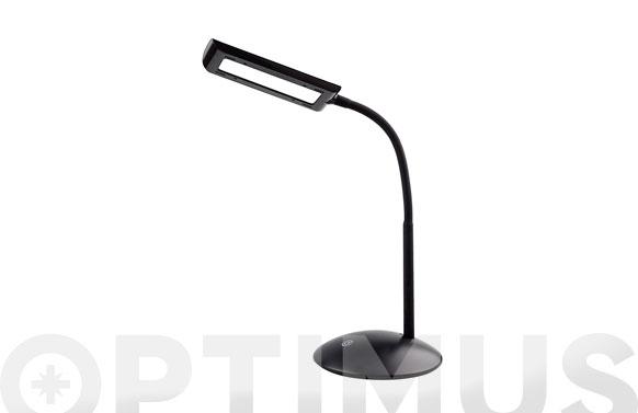Lampara led de escritorio 5w negra