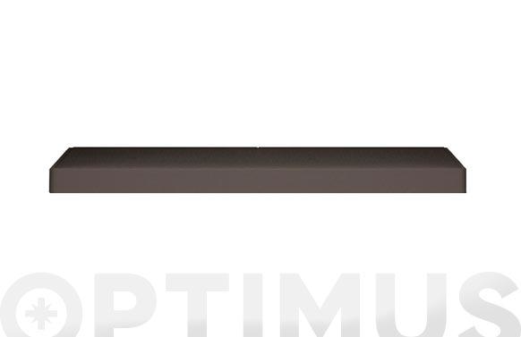 Estante armario sahara + soportes 68 x 39 x 5 cm