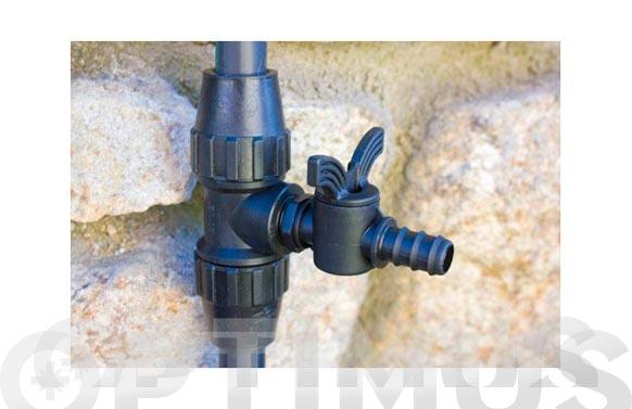 Valvula cierre rosca macho 1/2  16mm