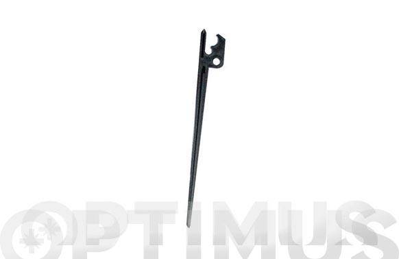 Soporte piqueta microtubo goteo 4mm  10 unidades