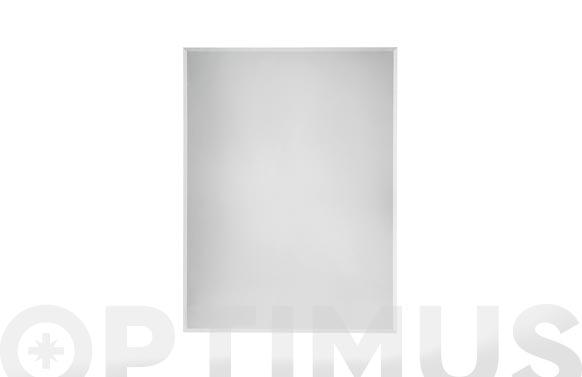 Espejo baño biselado mural 100 x 80 cm