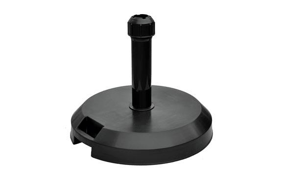 Pie parasol hormigon antracita 26 kg ø 18-55 mm