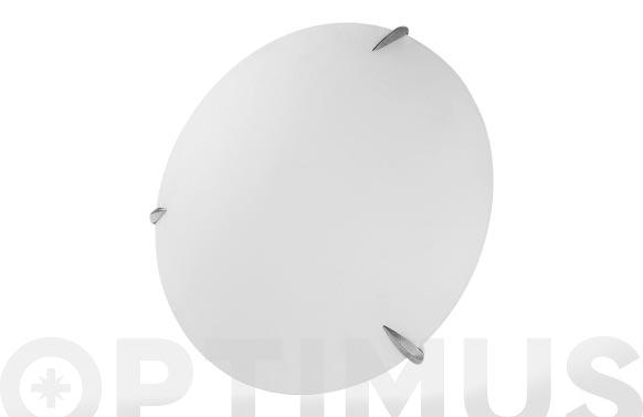 Plafon cristal ø30x9cm e27 2 x 60w