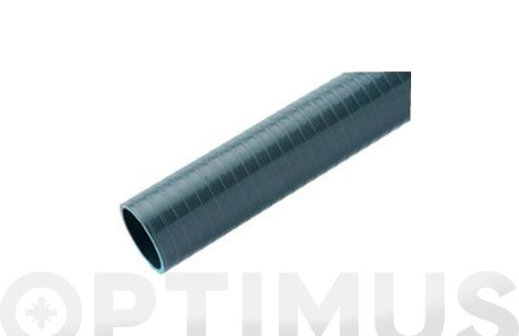 Tubo flexible evacuacion pvc gris ø 40 mm 1,5 mt