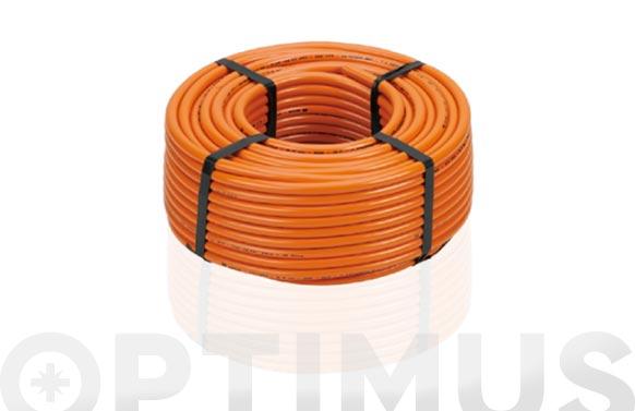 Tubo flexible gas butano a metros 9 x 15 mm