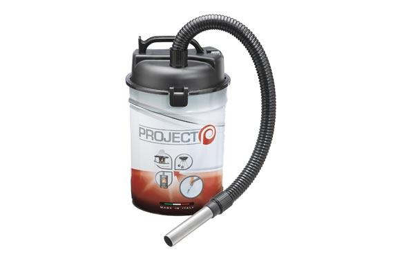 Aspirador soplador cenizas doble deposito 25 l 1200 w