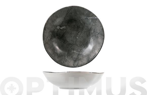 Plato stoneware rock hondo-20 cm
