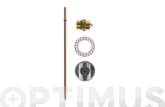 Kit boquilla de recambio para pistolas de pintar refs. 9660401 y 9660402
