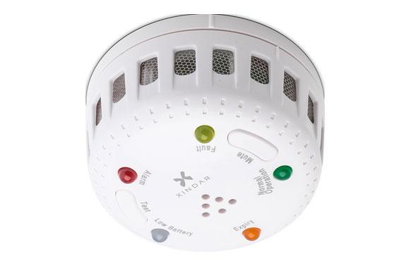 Detector de calor ø68x36 2xaaa no incluidas