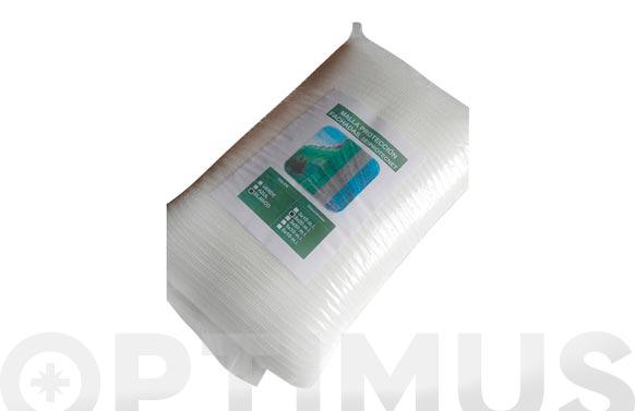 Malla proteccion fachadas 6 x10 m blanco