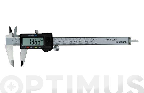 Pie de rey digital 150 mm
