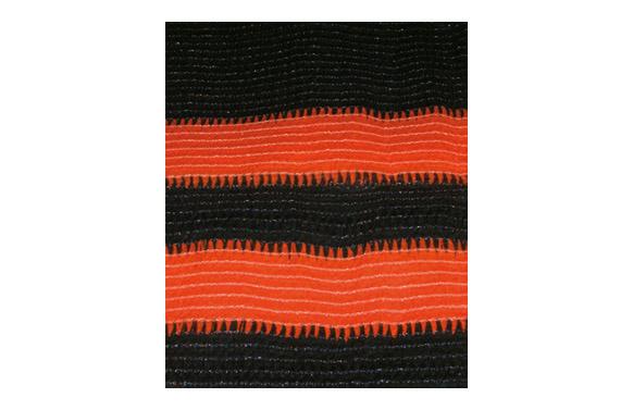 Malla señalizacion mini rollo 3.6 m x 190 cm verde oscuro/naranja