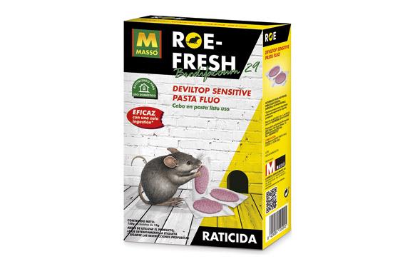 Raticida cebo fresco roe-fresh monodosis  10 x 15 gr