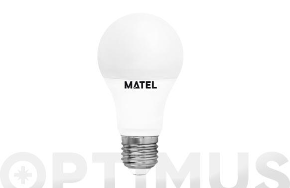 Lampara standar led al + pc e27 15 w luz calida
