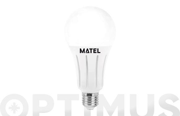 Lampara standar led al + pc e27 24 w luz calidad
