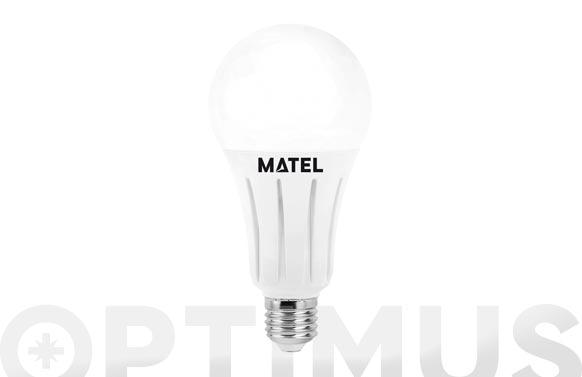 Lampara standar led al + pc e27 24 w luz fria