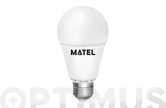 Lampara estandar led regulable e27 12 w luz calida