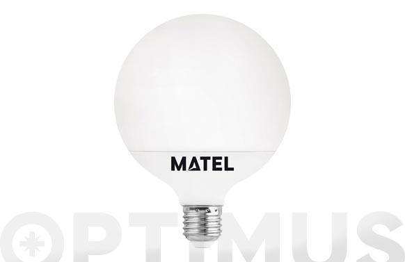 Lampara led globo 95 mm e27 15 w luz calida