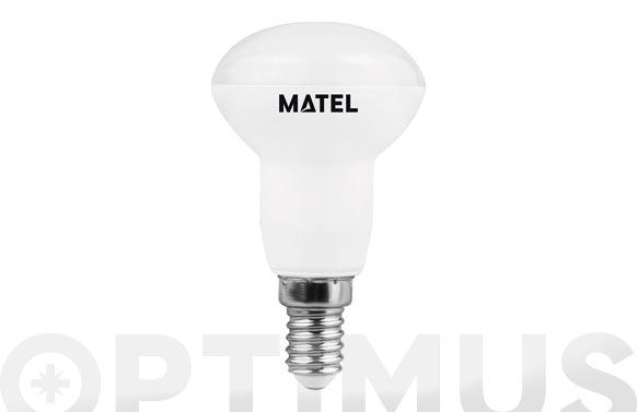 Lampara led reflectora 50 mm e14 6 w luz calida