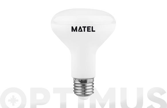 Lampara led reflectora 80 mm e27 10 w luz calida