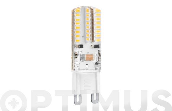Lampara silicona led bipin g9 3w luz calida