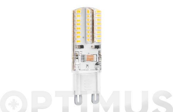 Lampara silicona led bipin g9 3w luz fria