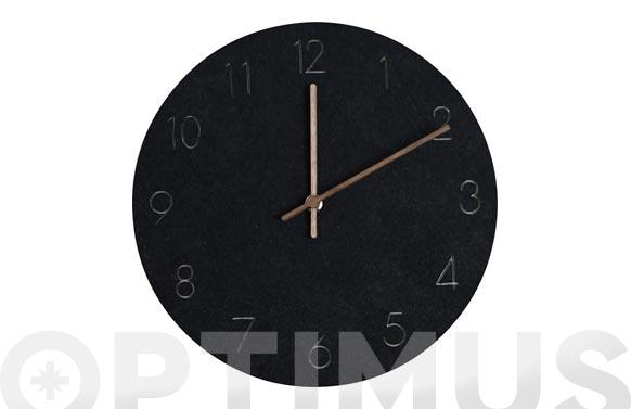Reloj de pared bonne heure negro