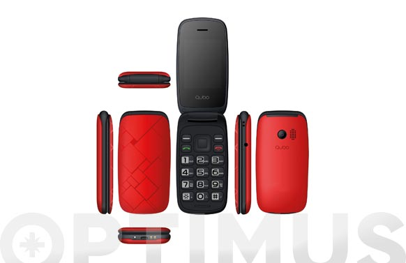 Telefono movil 2g neo rojo