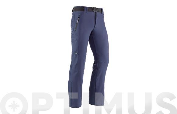Pantalon multibolsillos snow marino t. l