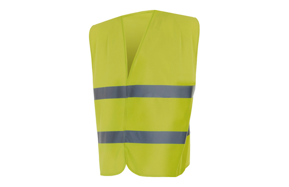 Chaleco alta visibilidad amarillo t m/l