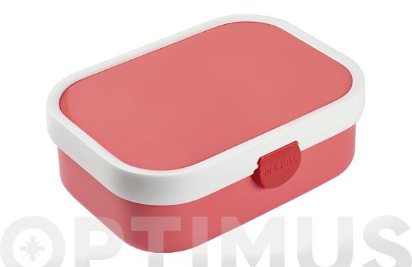 Contenedor lunch box campus rosa