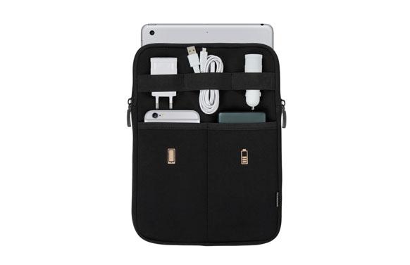 Organizador de viaje para accesorios y tablet
