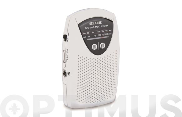 Radio analogica de bolsillo con altavoz