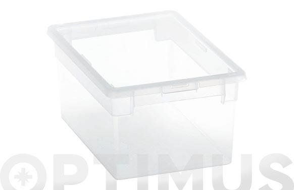 Caja multiusos light box transparente 6 l