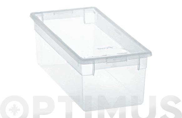 Caja multiusos light box transparente 7 l
