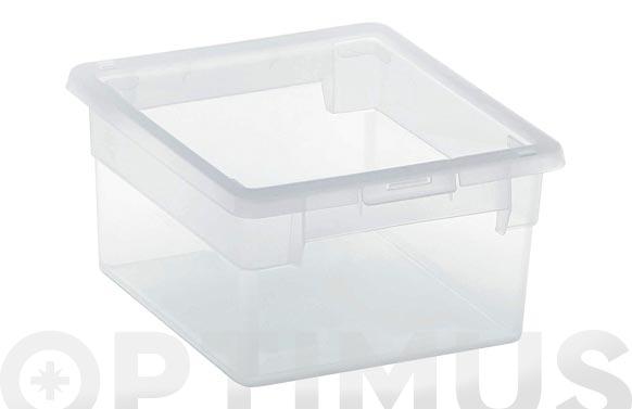 Caja multiusos light box transparente 2,5 l