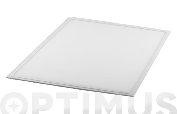 Panel led aluminio cuadrado 60x60 40w 3200lm fria