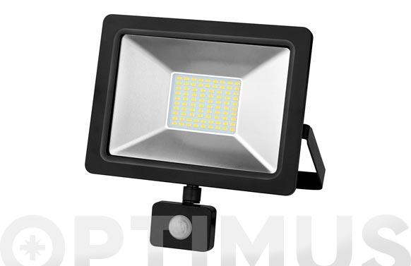 Foco proyector con sensor led 20 w 6500 k 2000 lm luz fría ip65