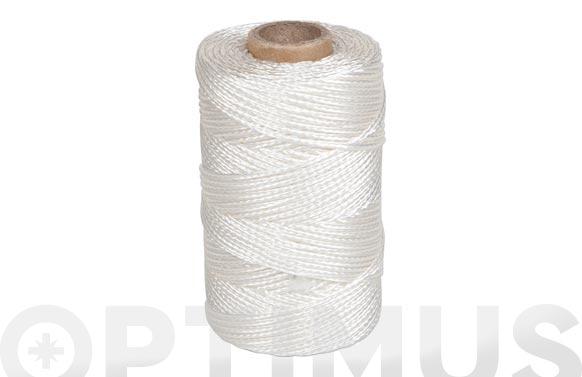 Cordon riel polipropileno blanco ø 2,5 mm 200 mt