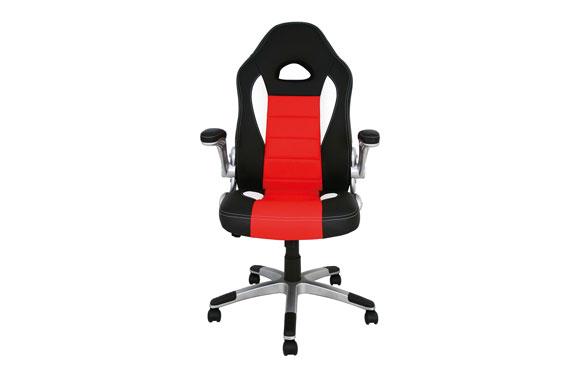 Silla escritorio/gaming negro / rojo