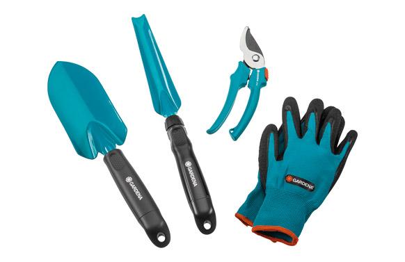 Herramientas jardin cultivo kit 4 piezas