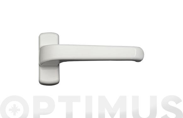 Manilla puerta aluminio (juego) 6800 blanco